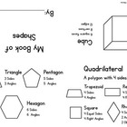 Simple Shape Book for Second Grade 2.G.A.1