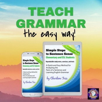 Simple Steps to Sentence Sense for Elementary Grades and E