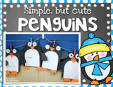 Simple, but Cute Penguin Glyph, Writing, and More!