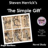 Simple gift, The - Herrick - Teacher Text Guides and Worksheets