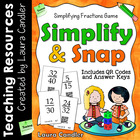 Simplify and Snap Fraction Game