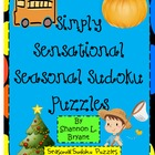 Simply Sensational Seasonal Sudoku (Holiday Problem Solving)