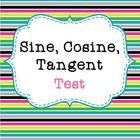 Sine, Cosine, and Tangent Test