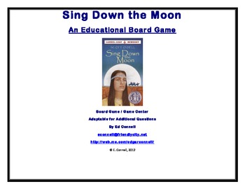 Sing Down the Moon Board Game