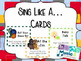 Sing Like... Card (Set of 32 Cards)