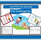 pre-k - digital download songs, Power Point, worksheets