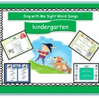 Kindergarten, Vol. 2, songs and worksheets, digital file