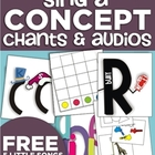 Sing-a-Concept Audio Downloads