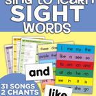 Sing to Learn Sight Word Songs (Music &amp; Lyrics)
