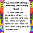 Singapore Math Strategies Involving Fractions (3)