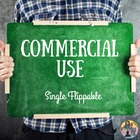 Single Flippable Commercial Use License