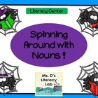 Singular and Plural Nouns {Spiders}