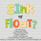 Sink or Float? Mini Unit
