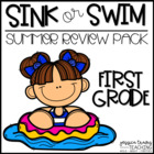 Sink or Swim {A summer packet to stay prepared for 2nd grade!}