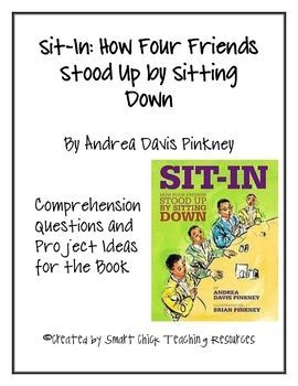 """Sit-In: How Four Friends Stood Up by Sitting Down"", Ques."
