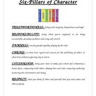 Six Pillars of Character