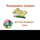 Six Trait Writing Activity for Voice (PowerPoint)