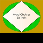 Six Traits Word Choice Smartboard