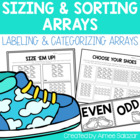 Sizing and Sorting Arrays {Common Core Aligned}
