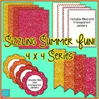 Sizzling Summer Fun!  Mini Seller Starter Pack Clip Art CU