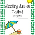 Sizzling Summer Packet - Kindergarten