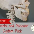 Skeletal and Muscle System Pack - Notes and Lab