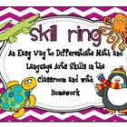 Skill Ring an Easy Way to Differentiate Math and Language