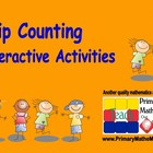 Skip Counting Interactive Activities for Smart Board
