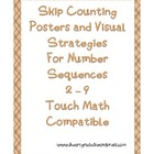 Skip Counting Posters with Visual Strategies