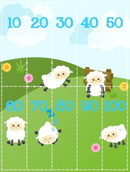 Skip Counting Sheep