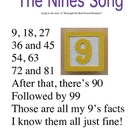 Skip Counting Song by Nines Poster
