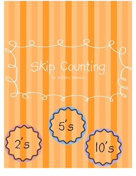 Skip Counting math centers (St. Patrick's Day themed)