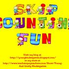 Skip Counting to 100 Learning Center Games