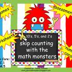 Skip Counting with the Math Monsters 10&#039;s, 5&#039;s, and 2&#039;s