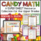 Skittles Math Printables for the Upper Grades *17 Pages of