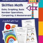 "Skittles Math - ""Taste the Rainbow"" Skittles Math Activity"