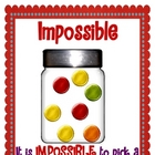 Skittles Probability Posters and Activity
