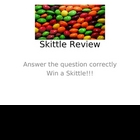 Skittles Reveiew Game - Rocks, Plate Tectonics, Water