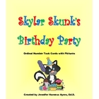 Skylar Skunk's Birthday Party--Ordinal Number Task Cards W