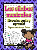 Sílabas musicales - Musical Syllable Fluency in Spanish