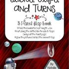 Slides, Flips, and Turns ~ Flap Book FREEBIE