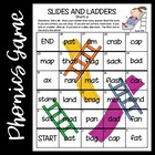 Slides and Ladders--Short Vowel Games