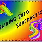 Sliding Into Subtraction - Electronic Flashcards