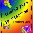 Sliding into Subtraction - Matching Game