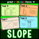 Slope Task Cards: Identifying Slope in Different Forms (st