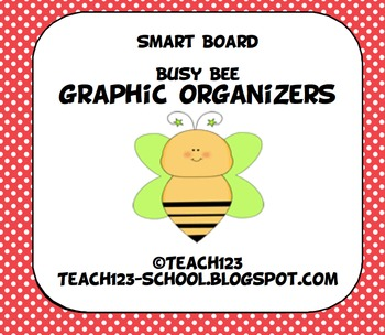 Smart Board:  Busy Bee Graphic Organizers