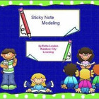 Smart Board Sticky Note Modeling: Common Core Aligned