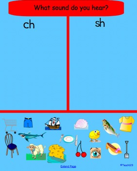 Smart Board:  We Love Phonics