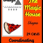 Smart Chute Style Shape Cards Deck Teaching Shapes
