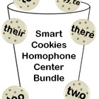 Smart Cookies - Homophone Centers (To, Two, Too, They're,
